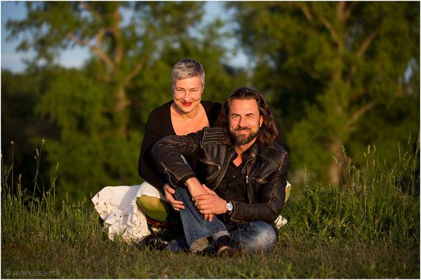 Andrea & Veit Lindau - Outdoor-Session an der deutsch-französischen Grenze
