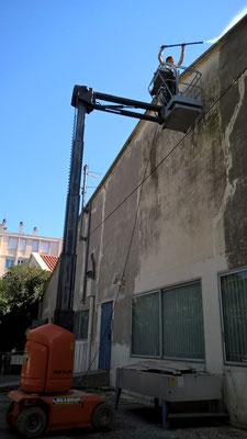 Peinture façade, nettoyage haute pression
