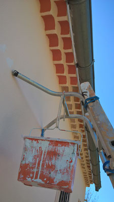 Artisan peintre, peinture façade
