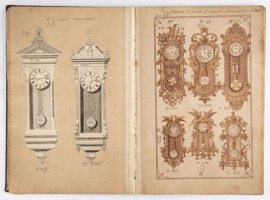 Kuckucksuhr Katalog um 1890, Schwarzwald Seite 14