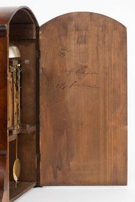 Rückwand, Bracket Clock von Matthä Winterhalder