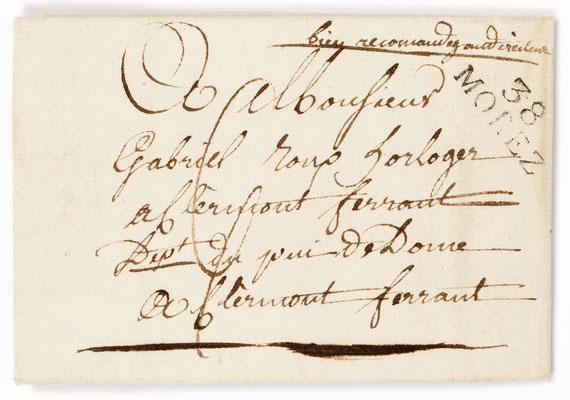 Horloger Mayet, Morbier 11.08.1811