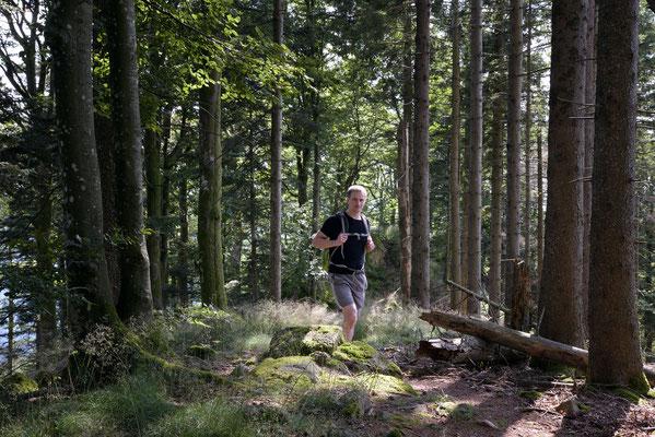 Matthias Hüttlin, Wanderung im Schwarzwald