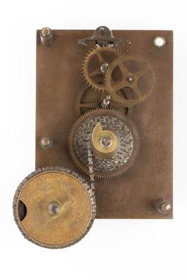 Werkansicht ohne Deckplatine,  Winterhalder & Hofmeier Dial Clock