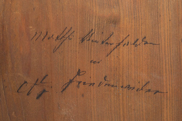 Signatur: Matthä Winterhalder in Friedenweiler No