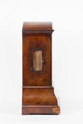 Seitenansicht, Bracket Clock, Matthä Winterhalder, Schwarzwald um 1855