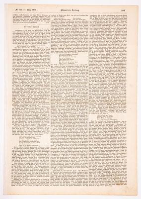 Kölner Karneval 1858, Leipziger Ilustrierte Zeitung Teil 1