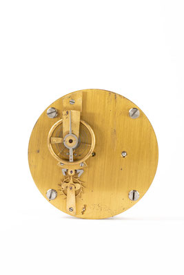 Gangmodell Freier Spitzzahnankergang, Uhrmacherschule Furtwangen, um 1900, Draufsicht