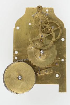 Uhrwerk Montagefoto (Drop Dial Clock, England 19. Jahrhundert)