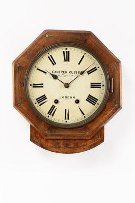 Camerer Kuss & Co., Drop Dial Clock, 1876
