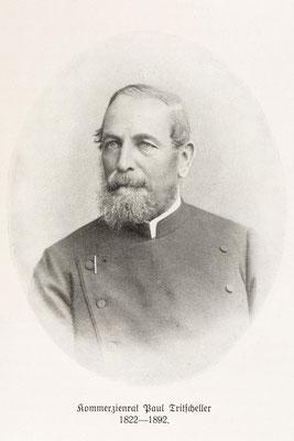 Kommerzienrat Paul Tritscheller 1822-1892 (Abbildung aus Quelle1, S. 85)