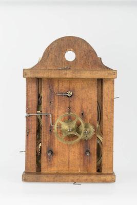 8-Tage Uhrwerk - Vorderansicht - Fidel Krieger Uhrenmacher in Lenzkirch (Schwarzwald) um 1850
