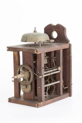 Uhrwerk der Lackschilduhr, Camerer, Kuss & Co Baden