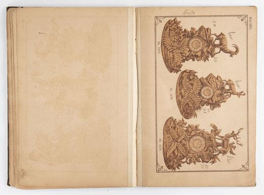 Kuckucksuhr Katalog um 1890, Schwarzwald Seite 24