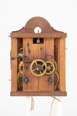 8-Tage Uhrwerk, Lorenz Fehrenbach Furtwangen (Schwarzwald), Zifferblattseite