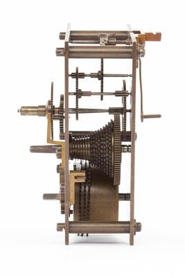 Seitenansicht von rechts,  Winterhalder & Hofmeier Dial Clock
