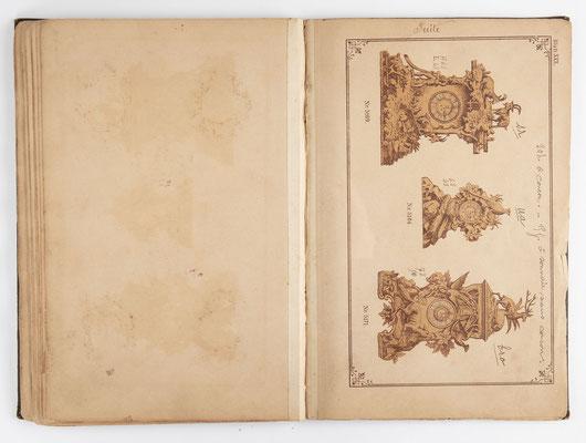 Kuckucksuhr Katalog um 1890, Schwarzwald Seite 29