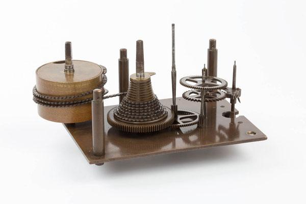 Werkansicht Detail,  Winterhalder & Hofmeier Dial Clock