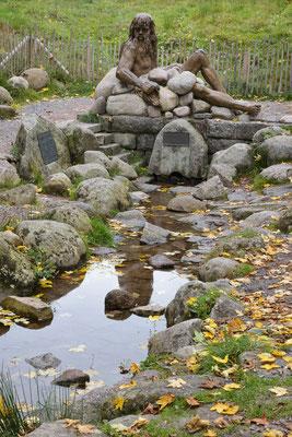 Donauquelle im Herbst (bei Furtwangen)