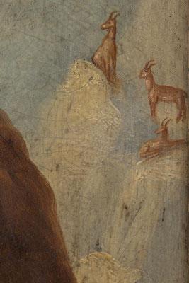 Detail, die Gemsen