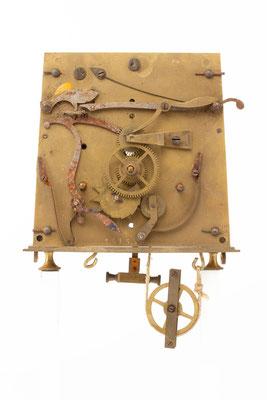 Regulator Uhrwerk, Furderer, Jaegler & Cie, Strasbourg, Zifferblattseite