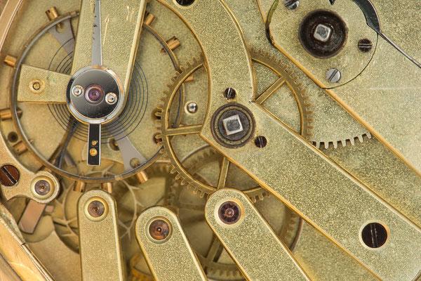 Detail Taschenuhrwerk