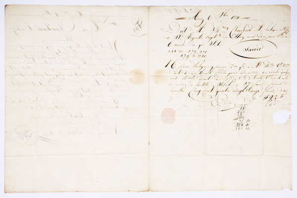 Joseph Augustin Paget, Horloger, Lettre de Morez 06.07.1820, Page 2