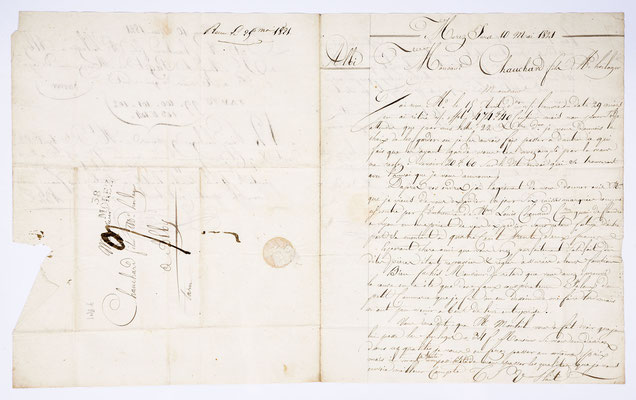Joseph Augustin Paget, Horloger, Morez 10.05.1821, Page 1