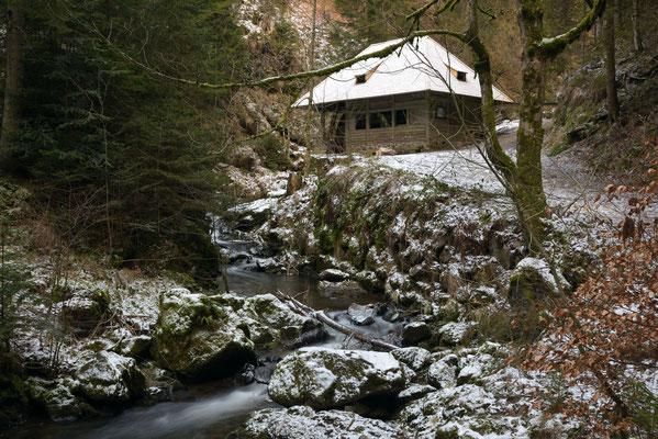 Mühle in der Ravennaschlucht