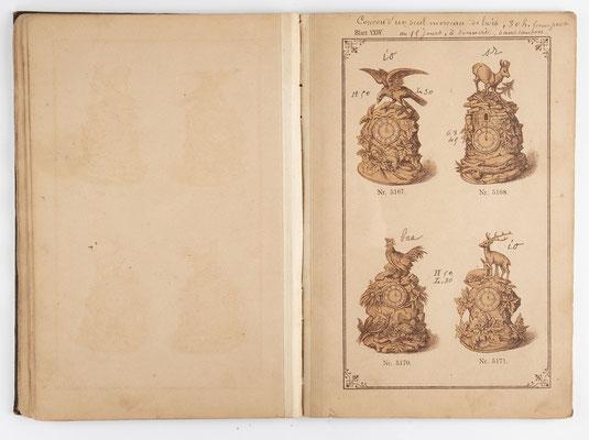 Kuckucksuhr Katalog um 1890, Schwarzwald Seite 23