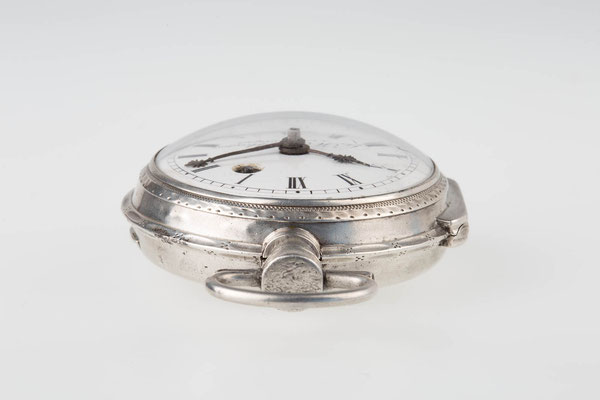 Draufsicht der Taschenuhr, G.H. Berblinger in Emmendingen um 1810