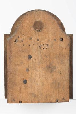 Schottenuhr von Fürderer Jaegler & Cie, Rückseite