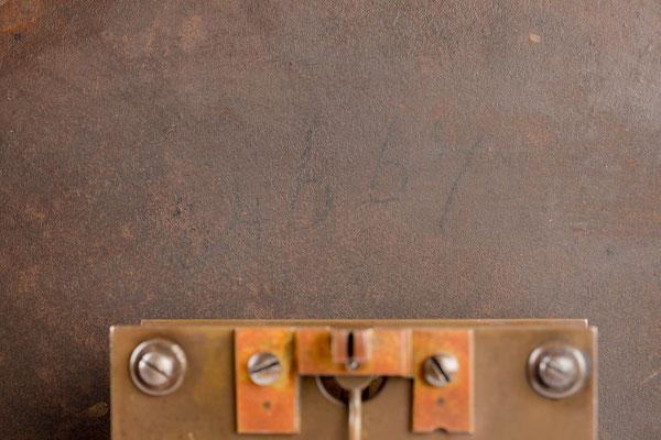 34667 auf der Zifferblattrückseite,  Winterhalder & Hofmeier Dial Clock