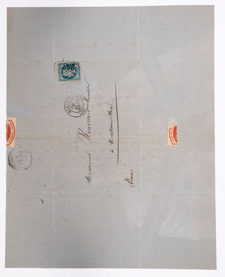 Frère Richard, Horloger a Morez, 31.05.1871, Briefhülle