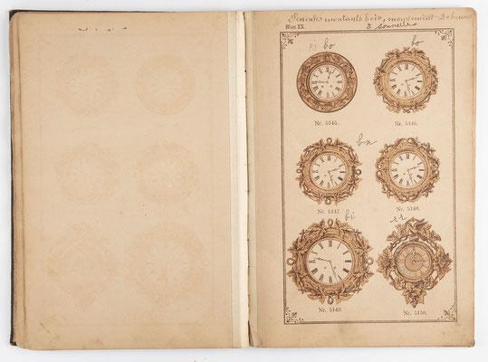 Kuckucksuhr Katalog um 1890, Schwarzwald Seite 20