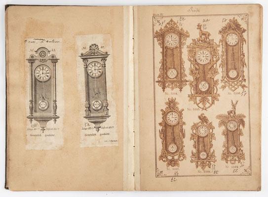 Kuckucksuhr Katalog um 1890, Schwarzwald Seite 15