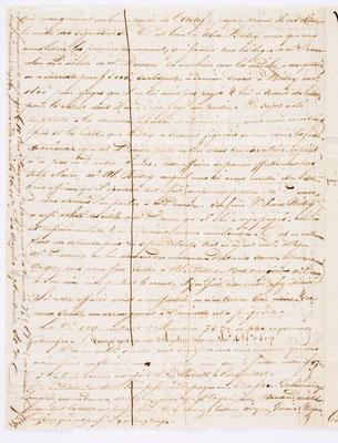 01. September 1844, Brief von S. Marti & Cie. (Paris) an S. Marti & Cie. (Montbéliard), Inhalt 2