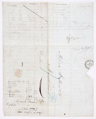 04. Februar 1844, Brief von S. Marti & Cie. (Paris) an S. Marti & Cie. (Montbéliard), Inhalt 2