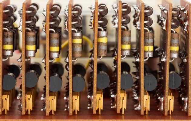 Junghans elektronic Astro-Chron, Werk 610, Teilerstufen