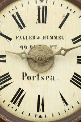 Händlersignatur: Faller & Hummel 99 Queen St. Portsea