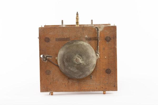 Schwarzwälder Uhrwerk, Alois Dilger, Altglashütte um 1860, Draufsicht