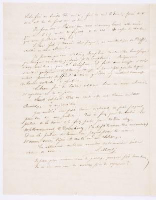 06. Mai 1844, Brief von S. Marti & Cie. (Paris) an S. Marti & Cie. (Montbéliard), Inhalt 2