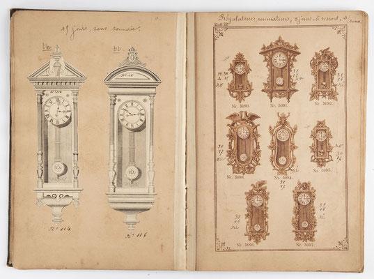 Kuckucksuhr Katalog um 1890, Schwarzwald Seite 13