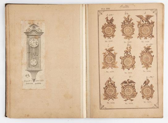 Kuckucksuhr Katalog um 1890, Schwarzwald Seite 18