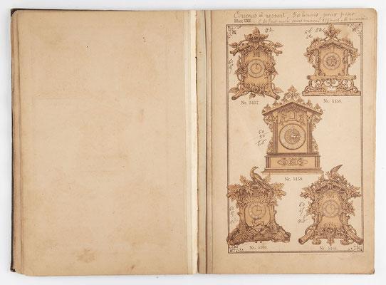 Kuckucksuhr Katalog um 1890, Schwarzwald Seite 21