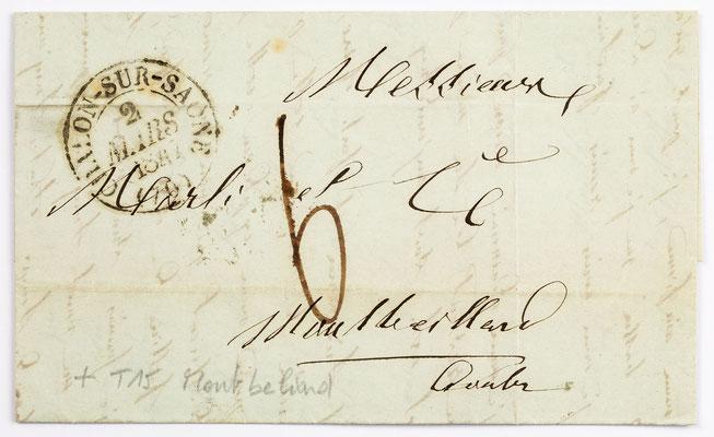 01. März 1847, Brief von Grand (Chálons) an S. Marti & Cie. (Montbéliard)