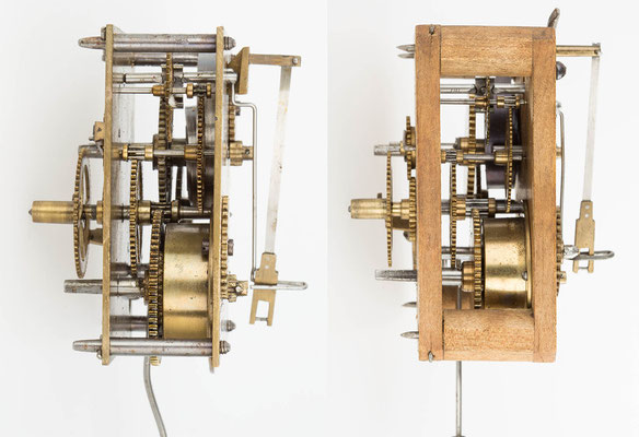 Cottage Clock, Winterhalder & Hofmeier, Uhrwerksvergleich