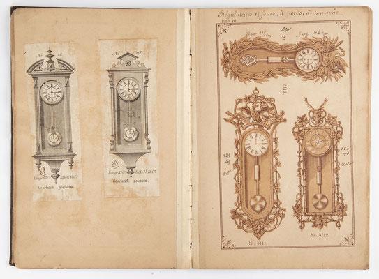 Kuckucksuhr Katalog um 1890, Schwarzwald Seite 16
