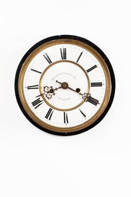 Regulator Uhrwerk mit Zifferblatt, Furderer, Jaegler & Cie, Strasbourg