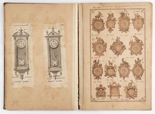 Kuckucksuhr Katalog um 1890, Schwarzwald Seite 17